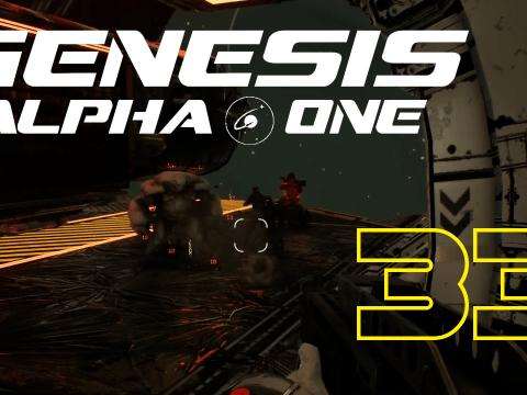 Fighting through this galaxy. Genesis Alpha One #33