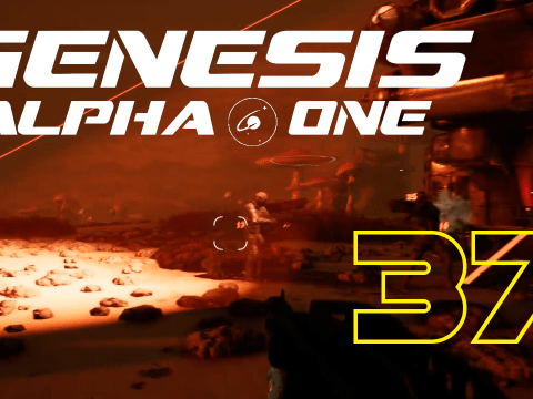 Biomass collector. Genesis Alpha One #37