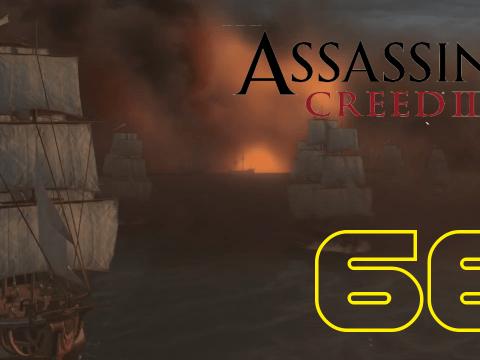 Die Schlacht von Chesapeake. Assassin's Creed III #66
