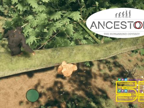 Bienen. Keine Freunde. Ancestors: The Humankind Odyssey #55