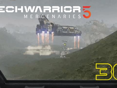 """""""Du kannst doch gut mit..."""" """"Schleudersitz umgehen?"""" Mechwarrior 5: Mercenaries #36"""