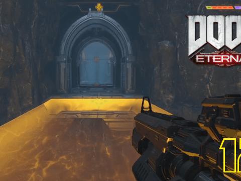 Über diese Brücke wird er kommen. Doom Eternal #12