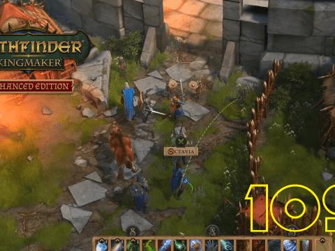 Nok-Nok! Pathfinder: Kingmaker #109
