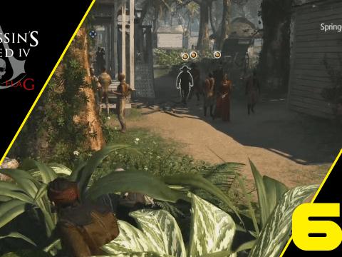 Prins, Torres und die Verfolgung durch die Stadt. Assassin's Creed IV: Black Flag #69