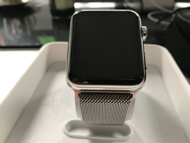 The functionality of the Apple Watch is tested in this report: so far it seems to be in need of improvement. Photo: Sascha Tegtmeyer
