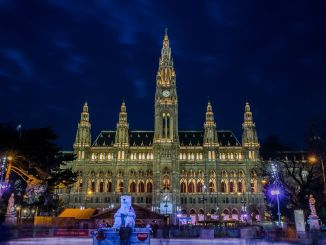 Christmas Market in Vienna: The Austrian metropolis is one of the most beautiful cities in the world for a Christmas trip. Photo: Pixabay