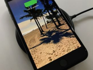 Wireless charging: Wireless charging works smoothly from the start. Photo: Sascha Tegtmeyer