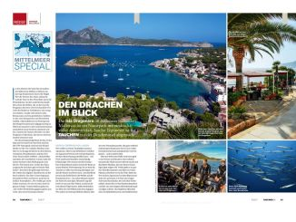 My travelogue about diving at the island Sa Dragonera was in DIVING 05 / 2017.