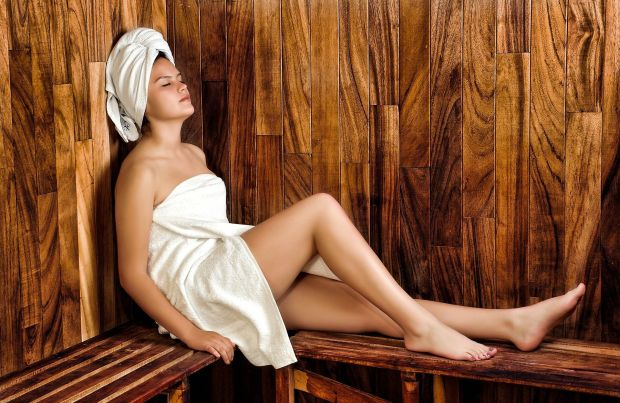 Warming up in the sauna can be really good in winter! Photo: Pixabay