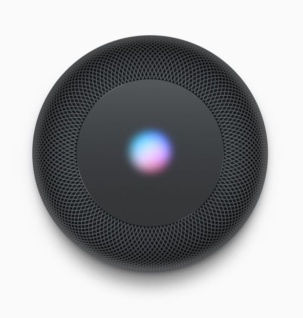 Siri waveform: Detect users when the Apple HomePod is active. Photo: Apple