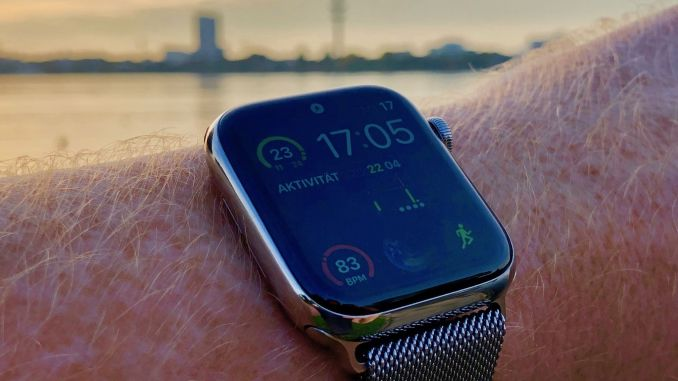 Meanwhile, the Apple Watch Series 4 has appeared and we have directly bought a copy for testing. Photo: Sascha Tegtmeyer