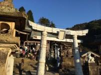 陶祖・李参平の碑がある陶山神社