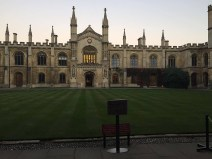 Cambridge. First acquaintance