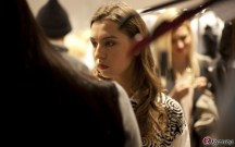 Backstage Sasha Glybina Mercedes-Benz Fashion Week Kiev SS 2012