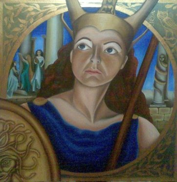 Athena, 2009. Available for sale.
