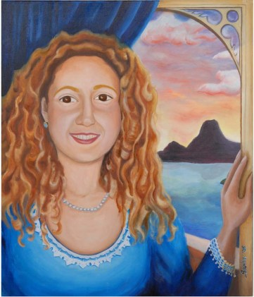 Maria. Commissioned portrait, 2007.