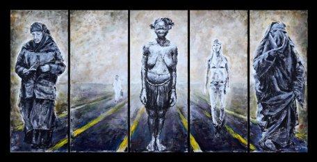 «Παράλληλοι Δρόμοι», τηε Ειρήνης Βαζούκου, το έργο που βραβεύθηκε κι έδωσε το έναυσμα για την υπόλοιπη σειρά