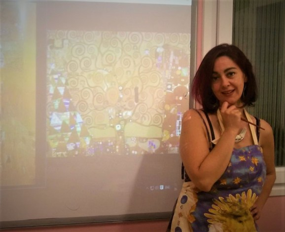"Leading the summer ""Art Camp - English through Art"" at Andrioti School, summer 2016"