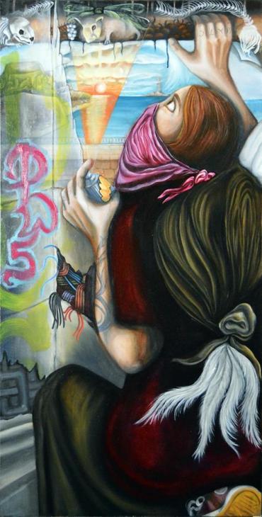 Guerrilla Angel (c) Sasha Chaitow 2016
