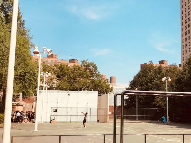 Squash at Hamilton Fish Park