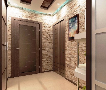дизайн коридора в квартире 5