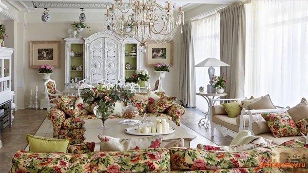 Стиль Прованс в доме. Как украсить интерьер в стиле ...