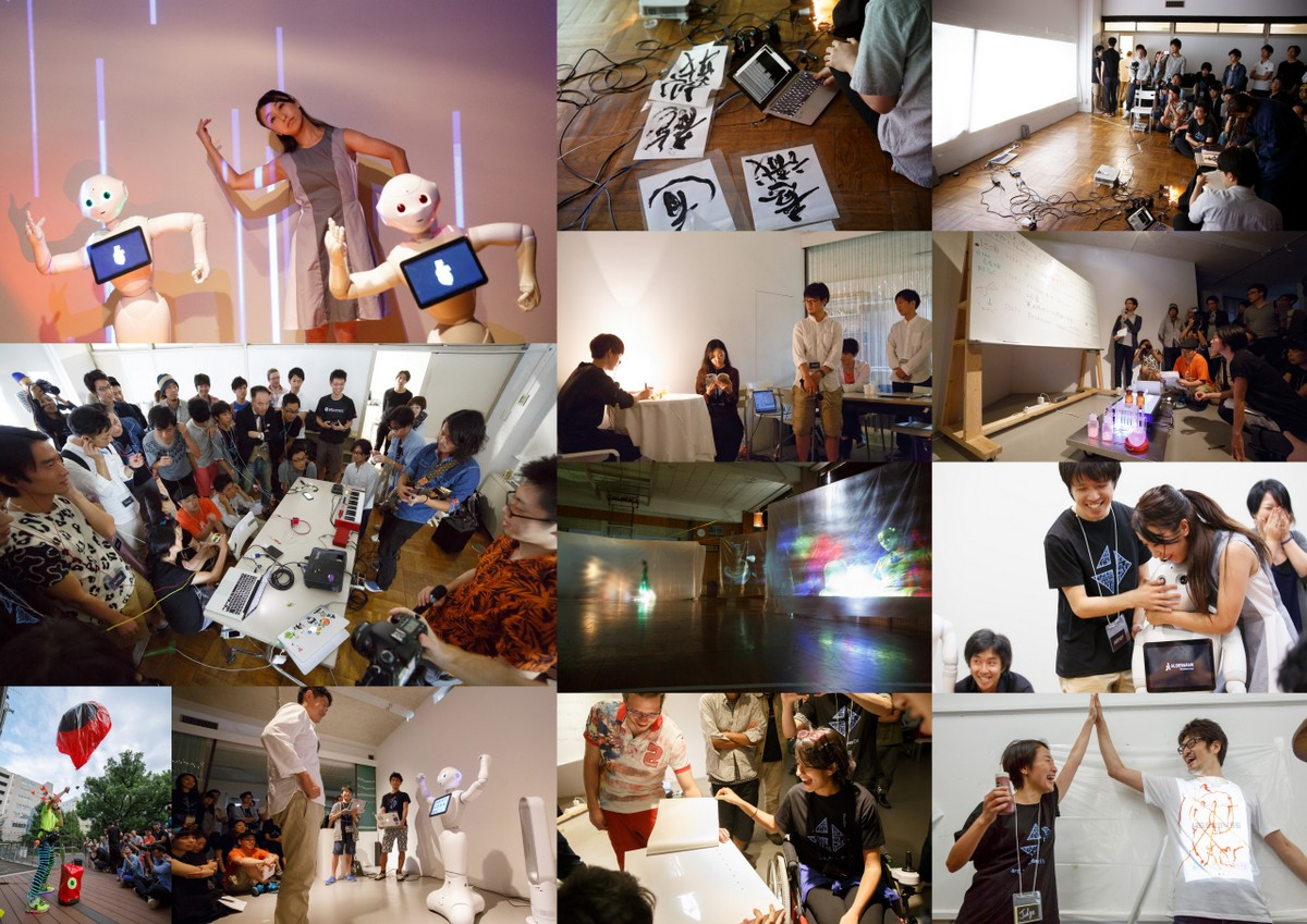 3331α Art Hack Day 2014