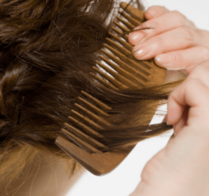 Wide Tooth Comb to Stop Hair Loss