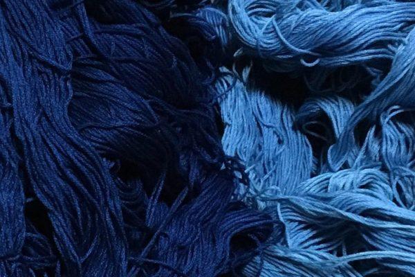 藍染め刺し子糸