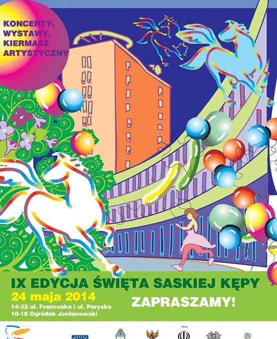 2014-05-24:  Święto Saskiej Kępy 2014