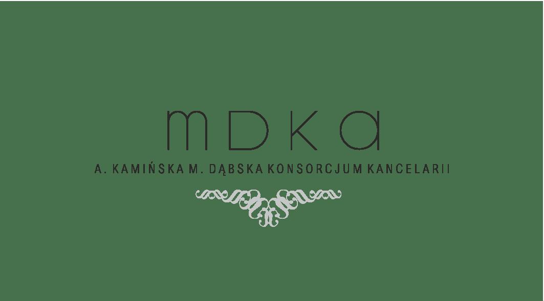 MDKA A.Kamińska M.Dąbska Konsorcjum Kancelarii