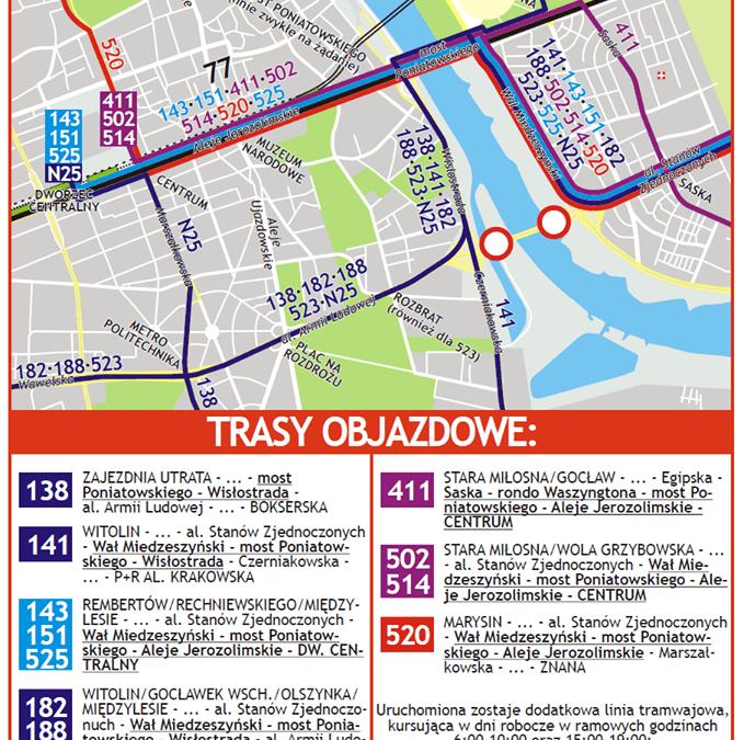 2015-02-21: !!! Trasa Ł. zamknięta do odwołania !!!