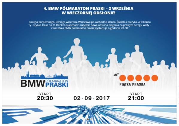 2017-09-02: BMW Półmaraton Praski i 4F Praska Piątka
