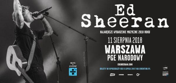 2018-08-11: koncert Ed Sheeran na PGE Narodowym