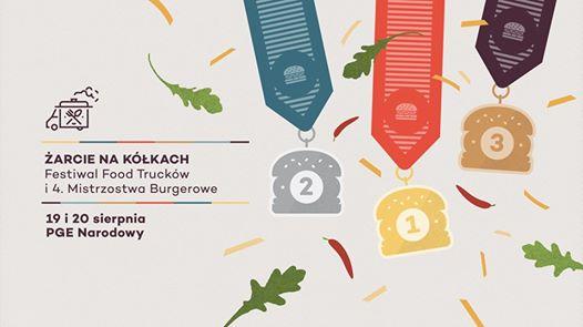 2017-08-20: ŻarcieNaKółkach: Festiwal Food Trucków i 4.Mistrzostwa Burgerowe