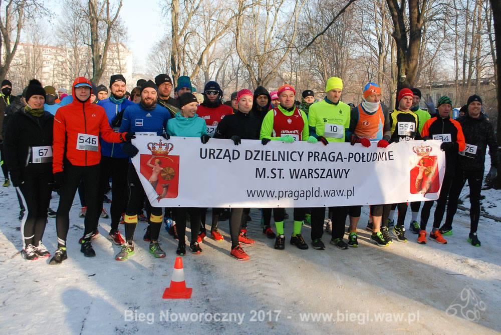2018-01-13: Bieg Noworoczny 2018 – Park Skaryszewski