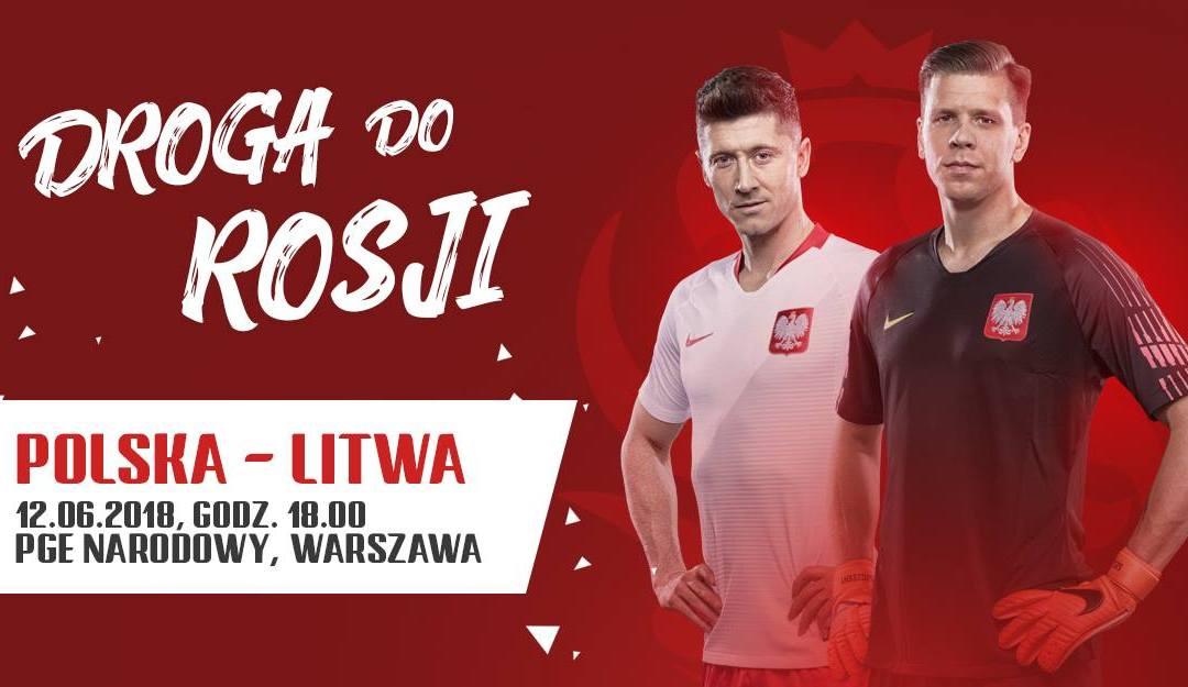 2018-06-12: Mecz towarzyski Polska-Litwa