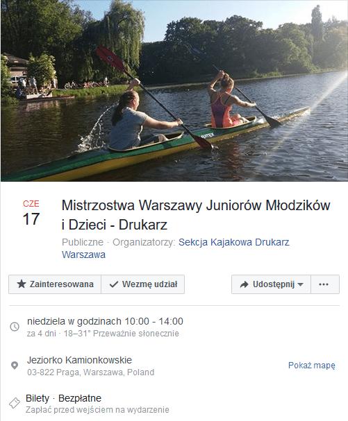 2018-06-17: Mistrzostwa Warszawy Juniorów Młodzików i Dzieci – KS Drukarz