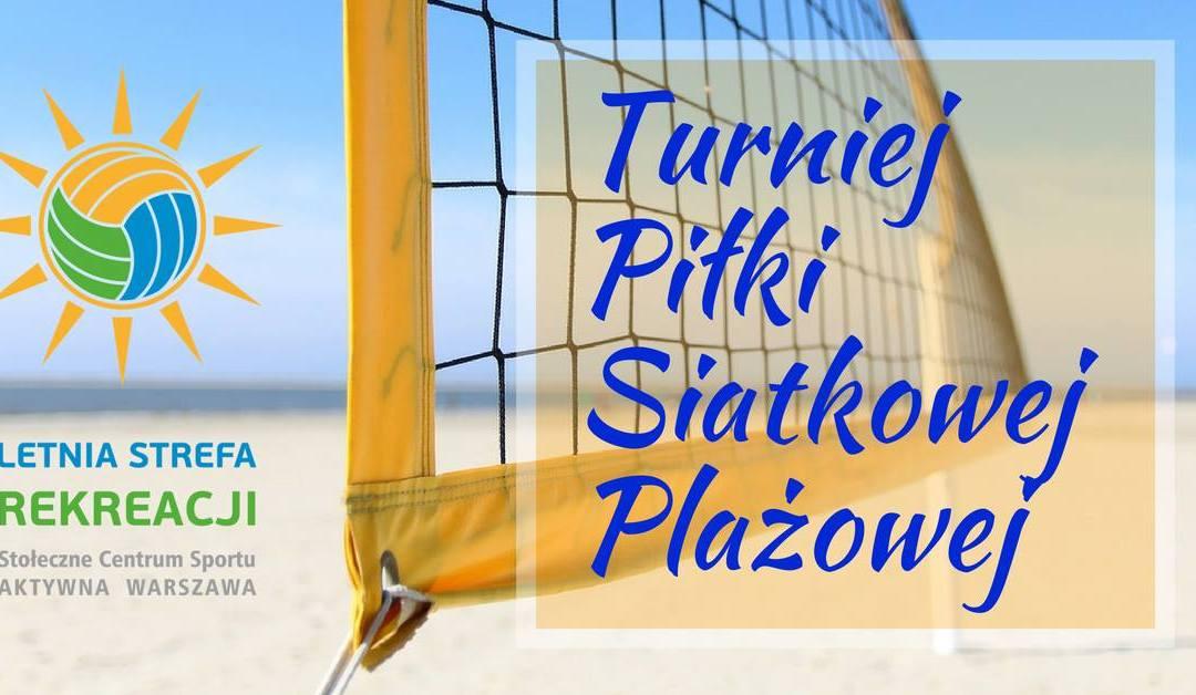 2018-06-23: Turniej Piłki Siatkowej Plażowej