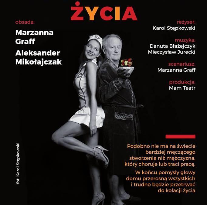 """2018-09-06 & 14: Warszawska premiera komedii """"Podwieczorek życia"""""""