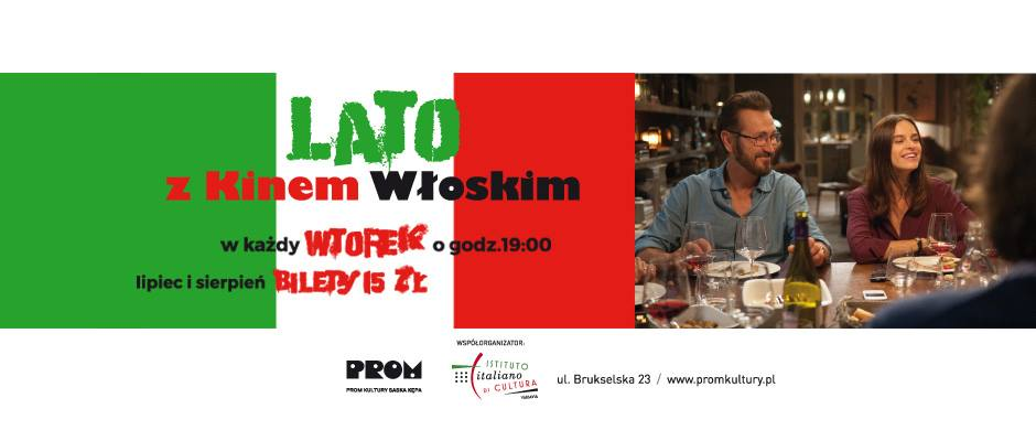 "2018-08-14: Lato z kinem włoskim: ""Made in Italy"""