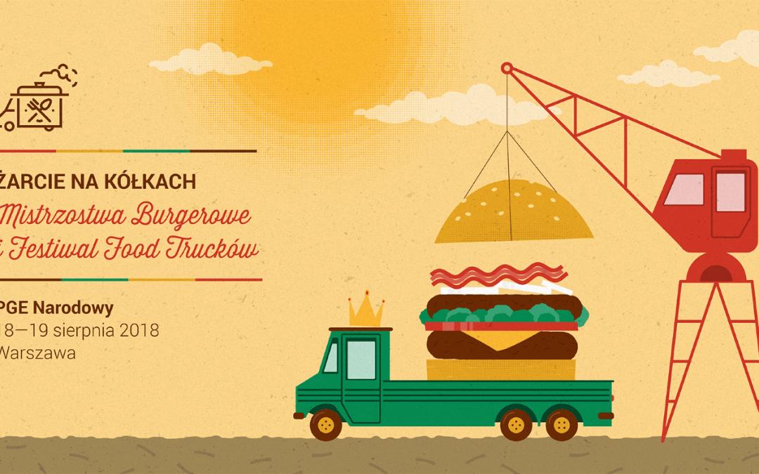 2018-08-18: Żarcie na Kółkach: Festiwal Food Trucków