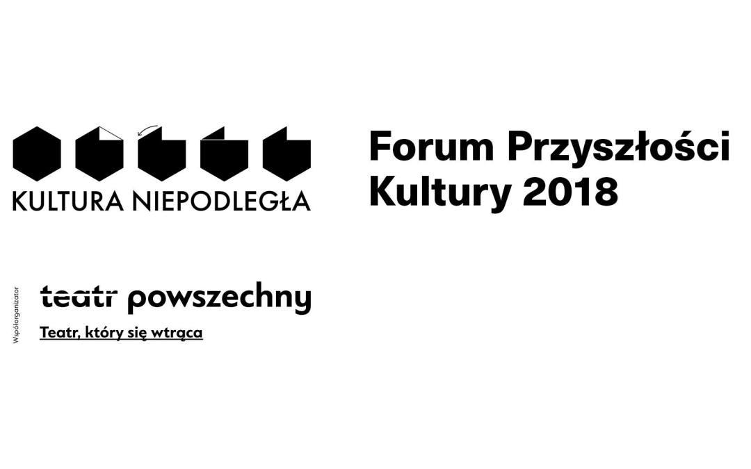 2018-09-24: Przyszłość kultury. Debaty z kandydatami na prezydenta Warszawy