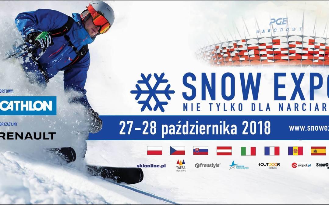 2018-10-28: SNOW EXPO – nie tylko dla narciarzy