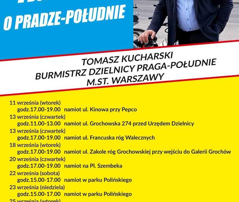 2018-09-13: spotkanie otwarte z Burmistrzem Pragi Południe