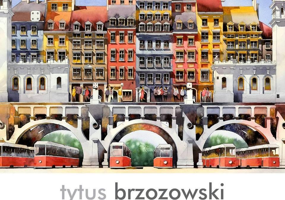 2018-11-16: GALERIA PROM: WERNISAŻ WYSTAWY MALARSTWA TYTUSA BRZOZOWSKIEGO i koncert zespołu WINO