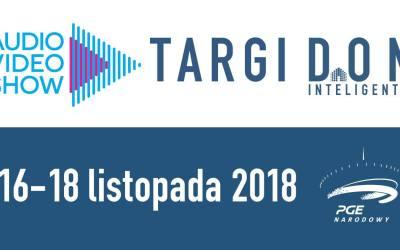 2018-11-18: Targi DOM Inteligentny podczas Audio Video Show 2018