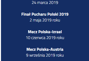 2019-05-02: Finał Pucharu Polski 2019