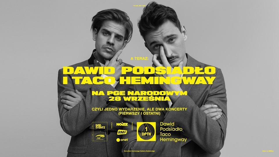 2019-09-28: Dawid Podsiadło i Taco Hemingway na Narodowym