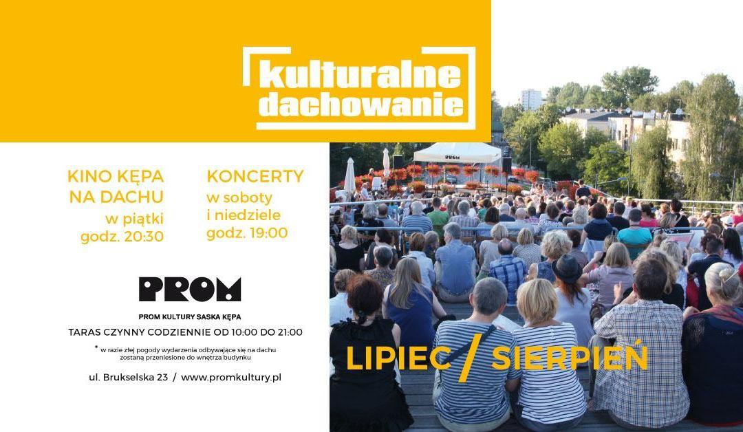 2019-07-28: Kulturalne Dachowanie: Joanna Morea with Swing On Air